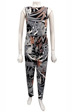 LIMITED STOCK - PRINT 602 - Josie printed jumpsuit