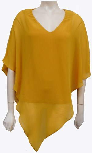 MUSTARD - Belinda double layer angle top