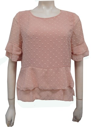 PINK - Jodie layered top