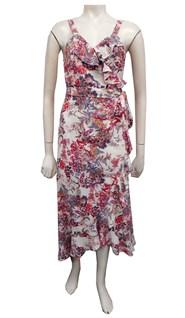 Helen frill wrap dress