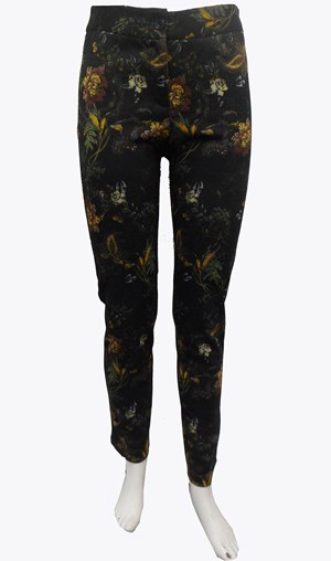 Willow printed ponti pants