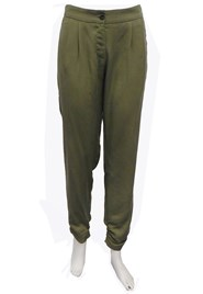 LIMITED STOCK - Crystal ruched hem pant