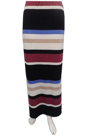 Amber stripe skirt
