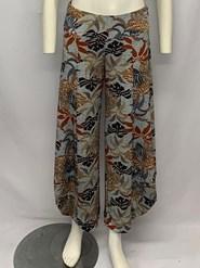 Soft Knit Printed Cowl Pant PRINT 1
