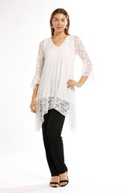 Grace Lace Angle Top