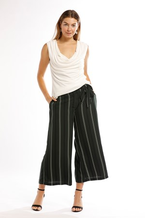 Baily Stripe Pant With Sash