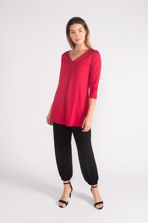Swing Knit Top - Hot Pink
