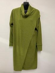Woolly Knit Tunic APPLE GREEN