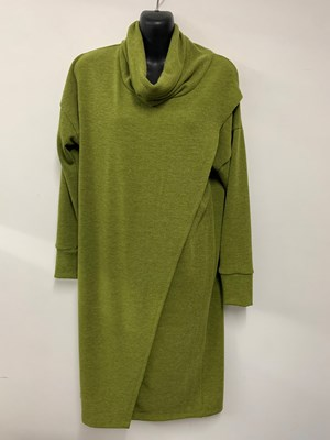 Woolly Knit Tunic APPLE GREEN