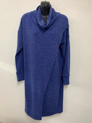 Woolly Knit Tunic ROYAL
