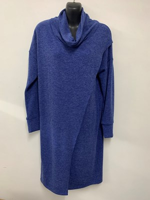 Woolly Knit Tunic ROYAL