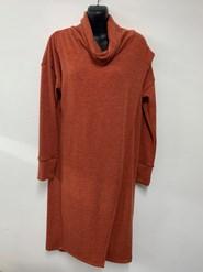 Woolly Knit Tunic RUST
