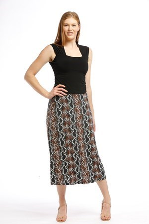 Soft Knit Skirt THIS PRINT IS SOLD OUT CLICK TO SEE NEW PRINT