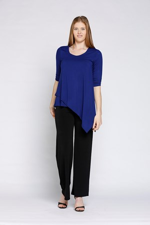 Angle Hem Top ROYAL