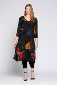 Charlotte Longline Woolly Knit Tunic with Split Detail