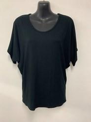 Kim Batwing T Shirt BLACK