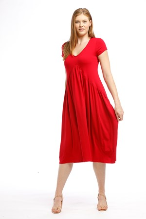 Wonderland Dress RED