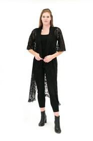 Lace Jacket BLACK