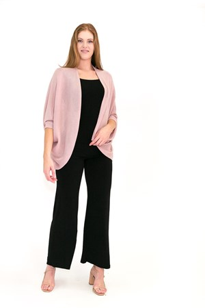 SOLD OUT Light Weight Knit Shrug PINK