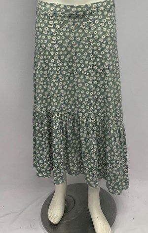 Alannah Angle Flounce Hem Skirt