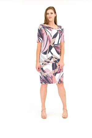 Teagan Slim Fit Dress Fully Lined