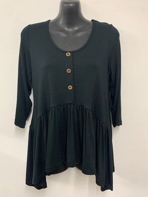 Penny Bamboo Top BLACK