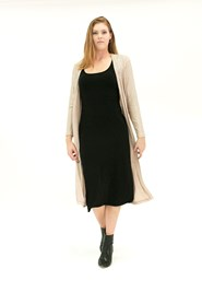 LIMITED Sunset Cardigan Light Weight Ribbed Knit with Lurex Gold Thread