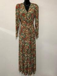Veronica Faux Wrap Maxi Dress