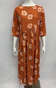 Crepe Dress Print 1