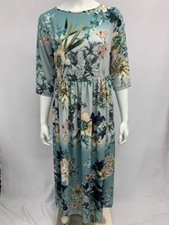 Crepe Dress Print 3