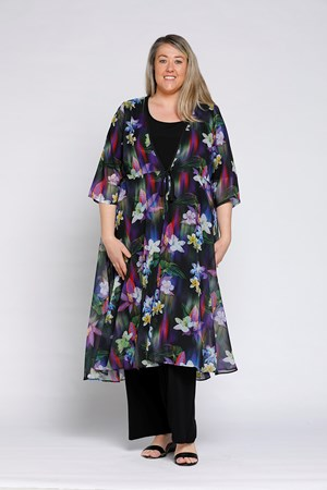 Ashley Chiffon Overcoat