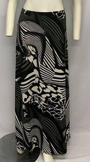 Printed Soft Knit Maxi Skirt