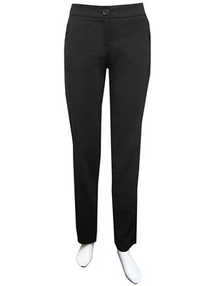 Bengaline straight leg pant with pockets