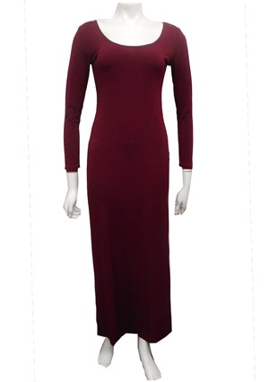 PORT - Soft knit long sleeve maxi dress