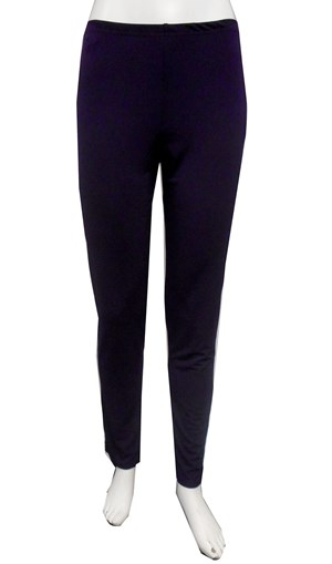 EMPIRE - Soft knit tapered leg pants