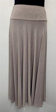 Woolly Knit Skirt BEIGE