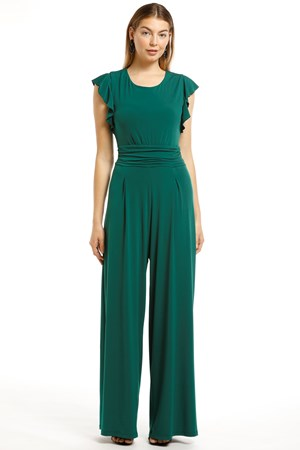 Taylor Soft Knit Jumpsuit - Pine