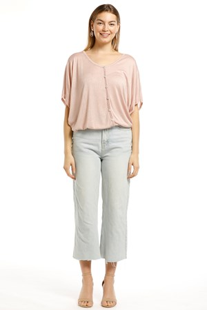 Bianca Lightweight Knit Top - Pink