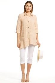 Suzie Linen Stripe Shirt