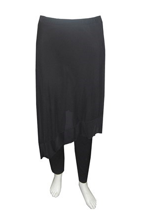 Rosella all in one pant with mesh overskirt