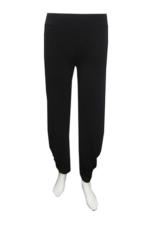 LIMITED STOCK - Priscilla soft knit pant with tuck detail on back leg