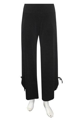 Langley soft knit pant with curved cuff