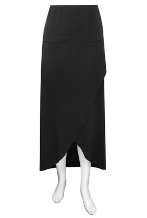 Meryl soft knit wrap skirt