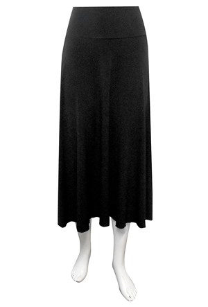 Tess long A-Line skirt
