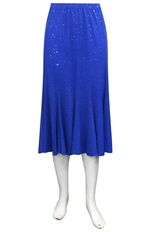 ROYAL - Sparkle 12 gore soft knit skirt.