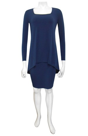 LIMITED STOCK - NAVY - Rita dress with over top