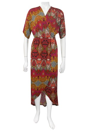 LIMITED STOCK - Bree kimono wrap dress