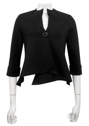 BLACK - Hope ponti jacket with 1 button