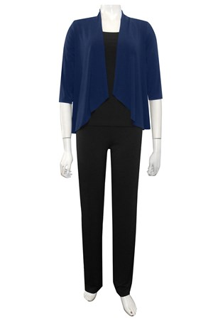 NAVY - Kate waterfall shrug