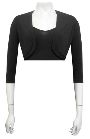 3/4 Sleeve soft knit shrug
